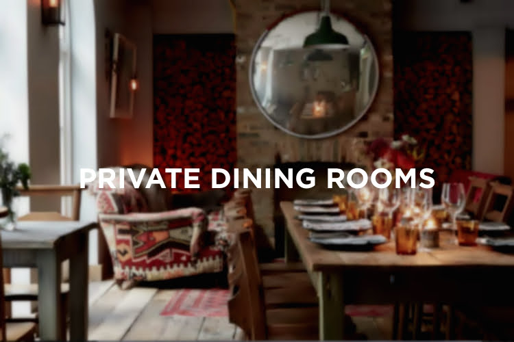 Private Dining Rooms - Christmas in London 2018
