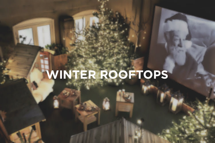 Winter Rooftops - Christmas in London 2018