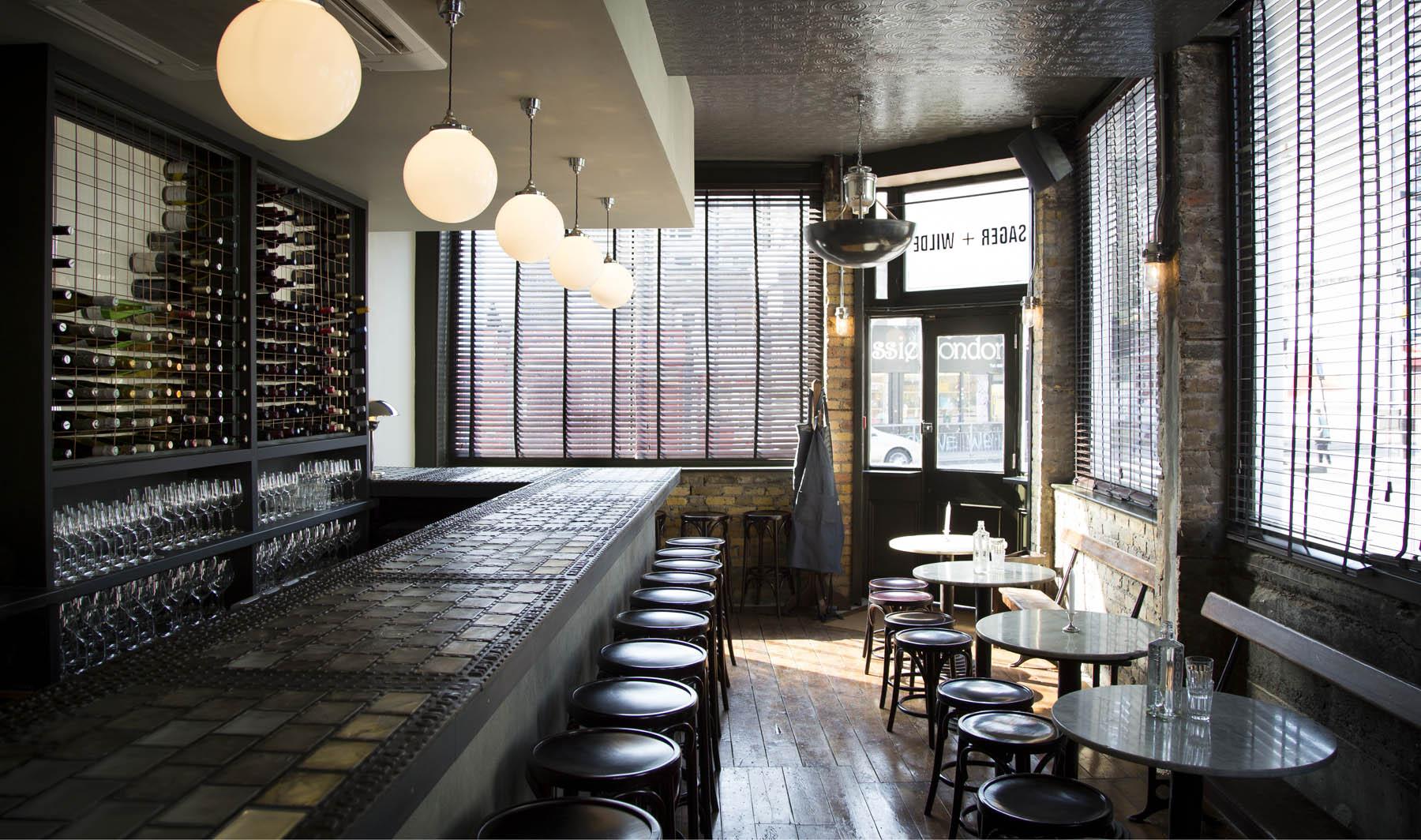 Sager + Wilde East London bar