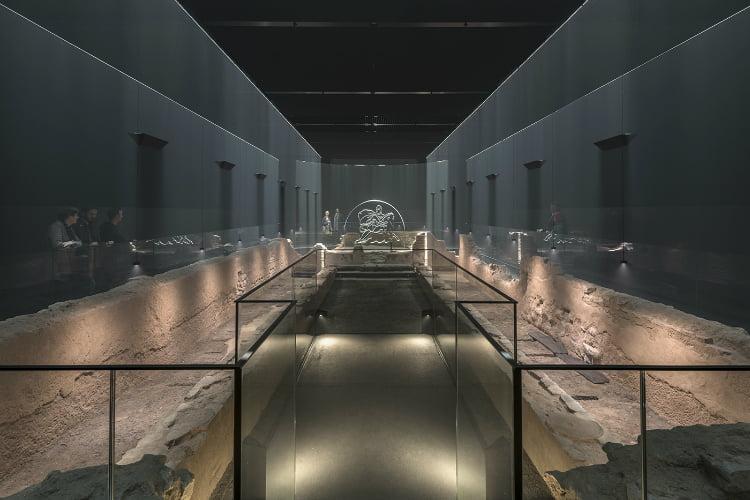 Bloomberg Arcade Mithraeum