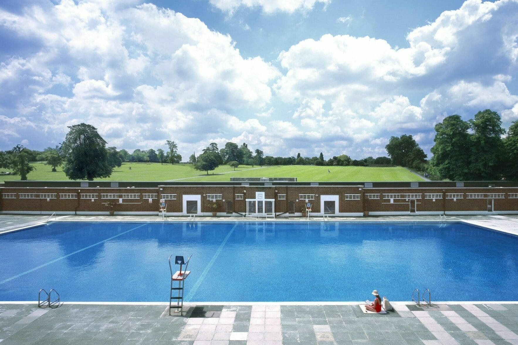 Brockwell lido outdoor swimming london