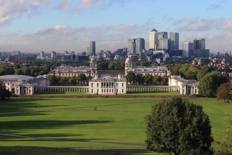 Greenwich Park London walks
