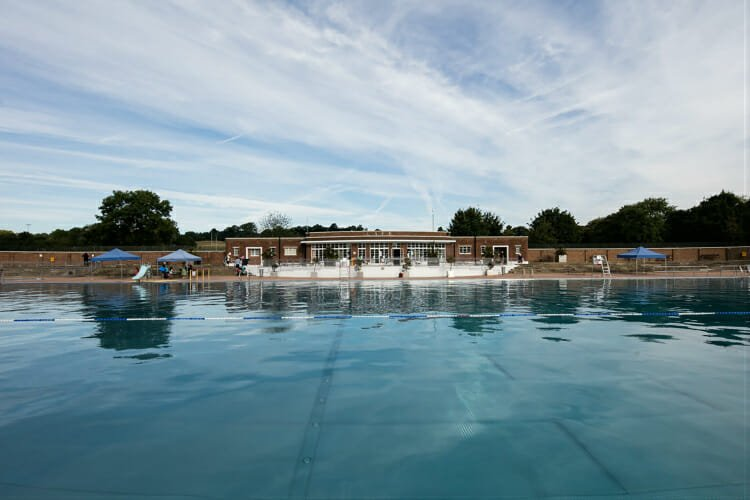 Parliament Hill Lido Hampstead Heath