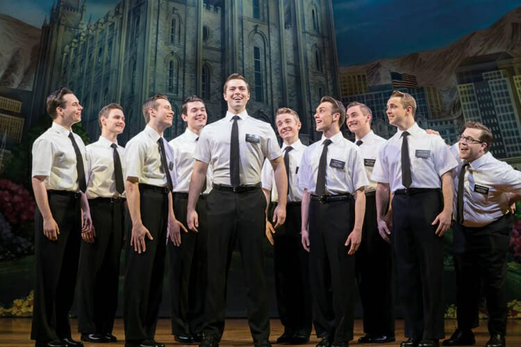 Book Mormon London Musicals