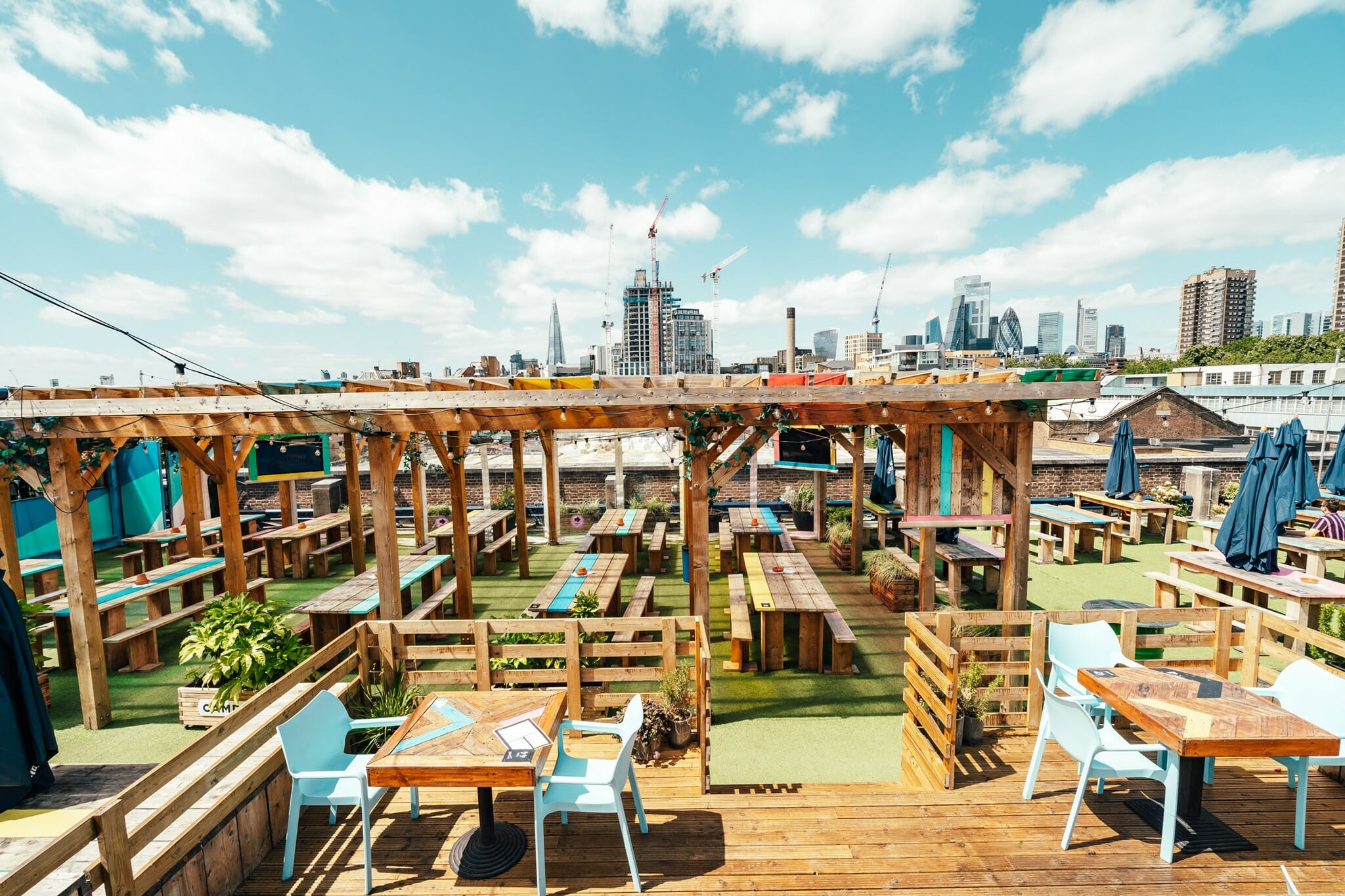 skylight rooftop bar games