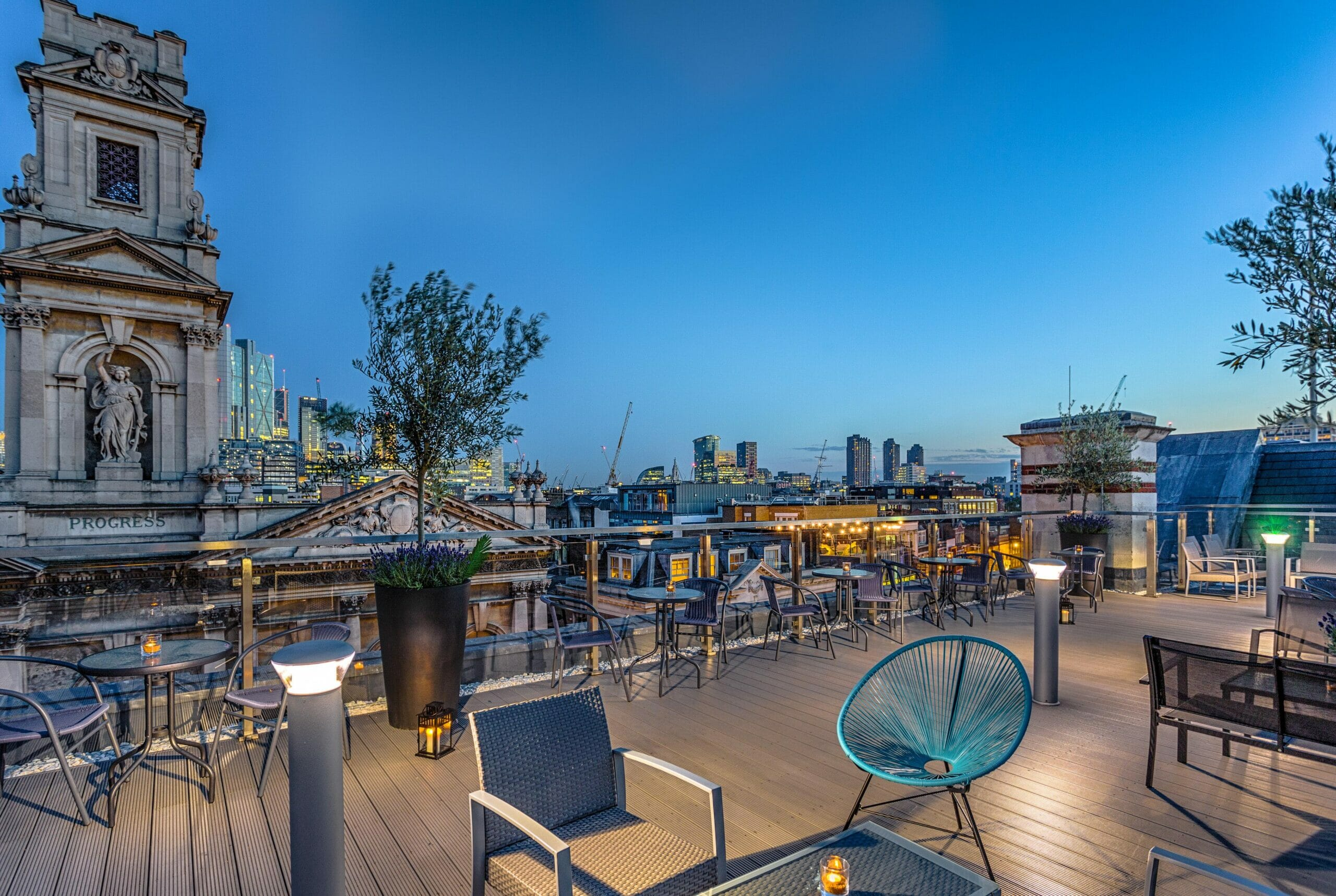 rooftop bars shoreditch