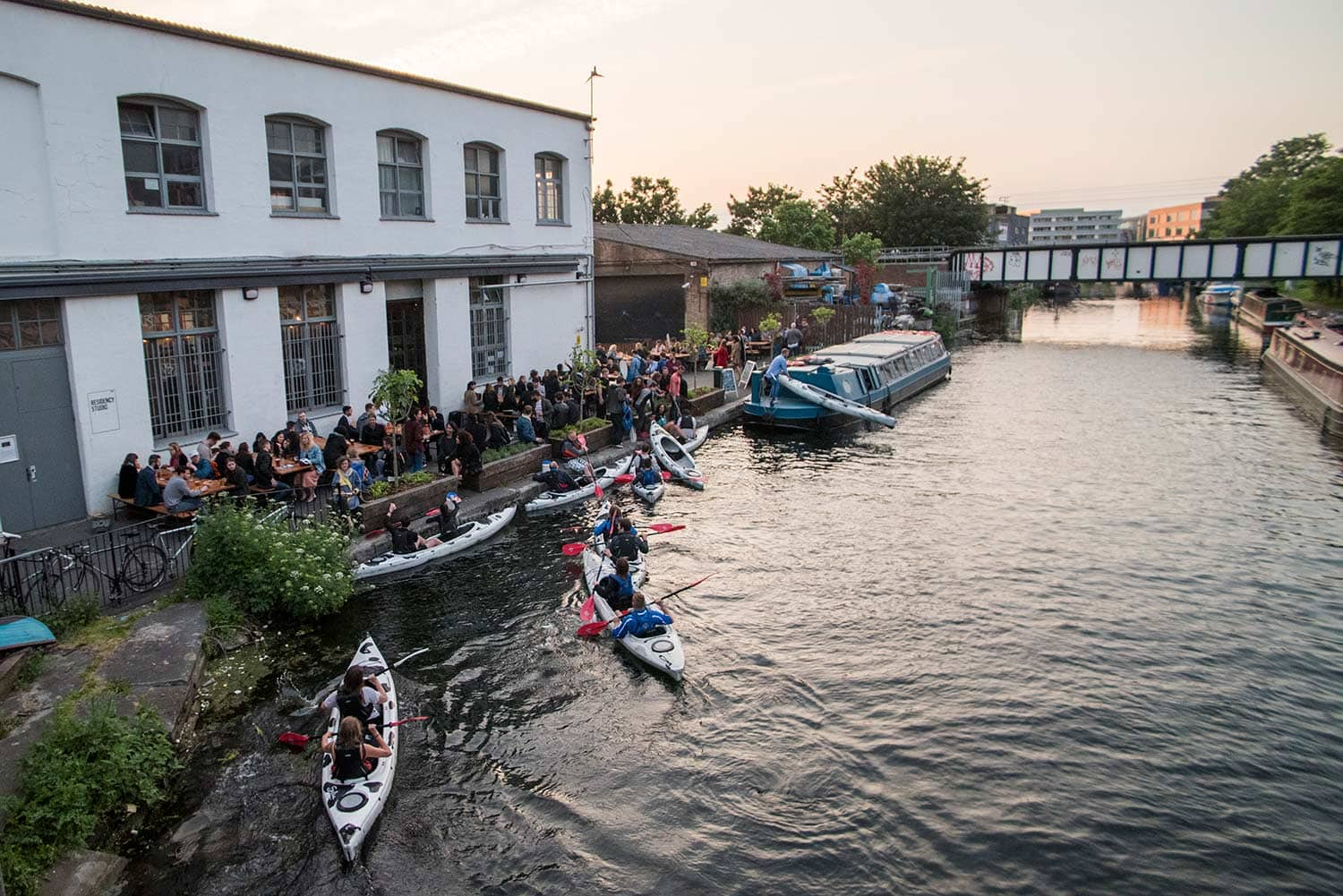 Kayak outdoor things to do london
