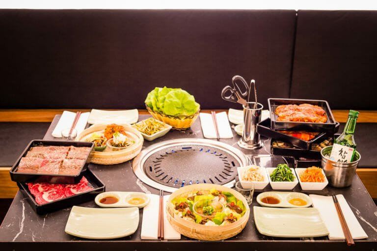 Koba Korean BBQ restaurant London