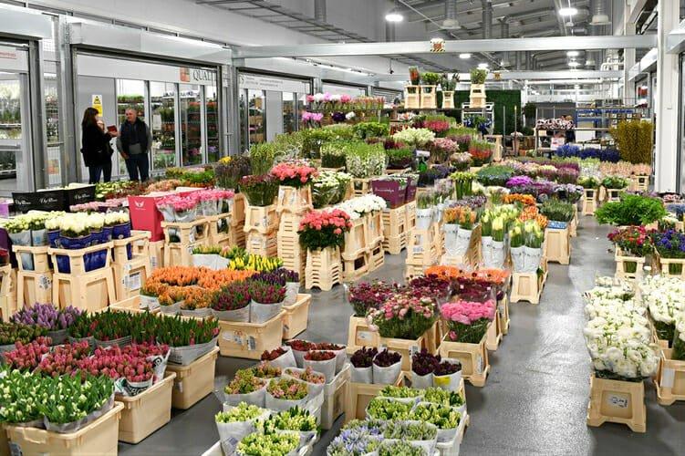 New Covent Garden Flower Market