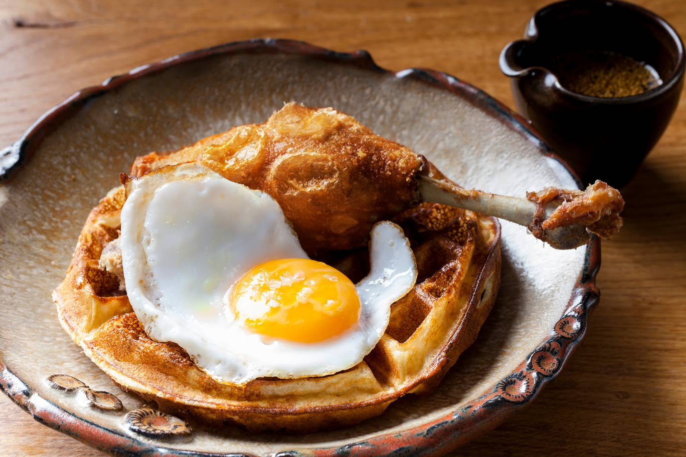Duck and Waffle brunch London