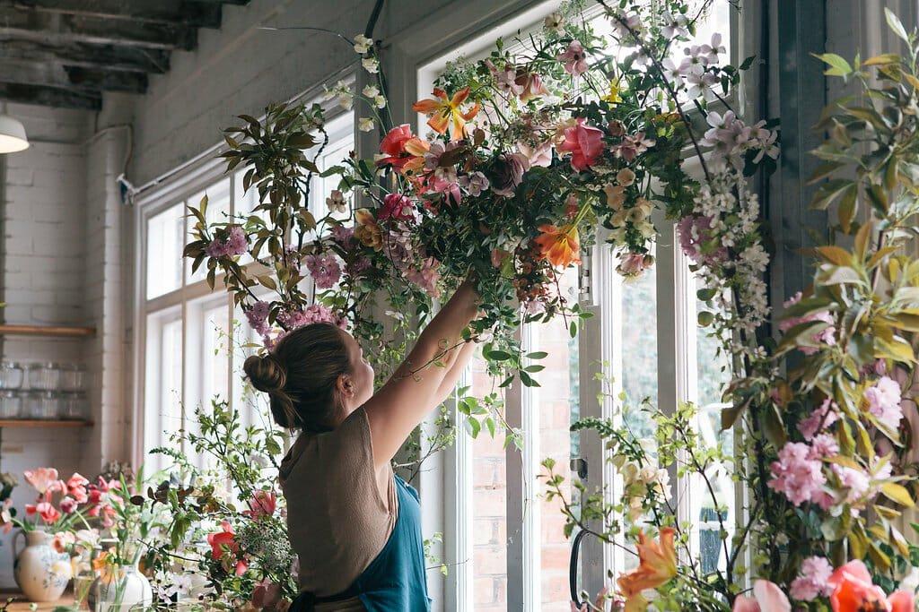 Floristry workshops creative London