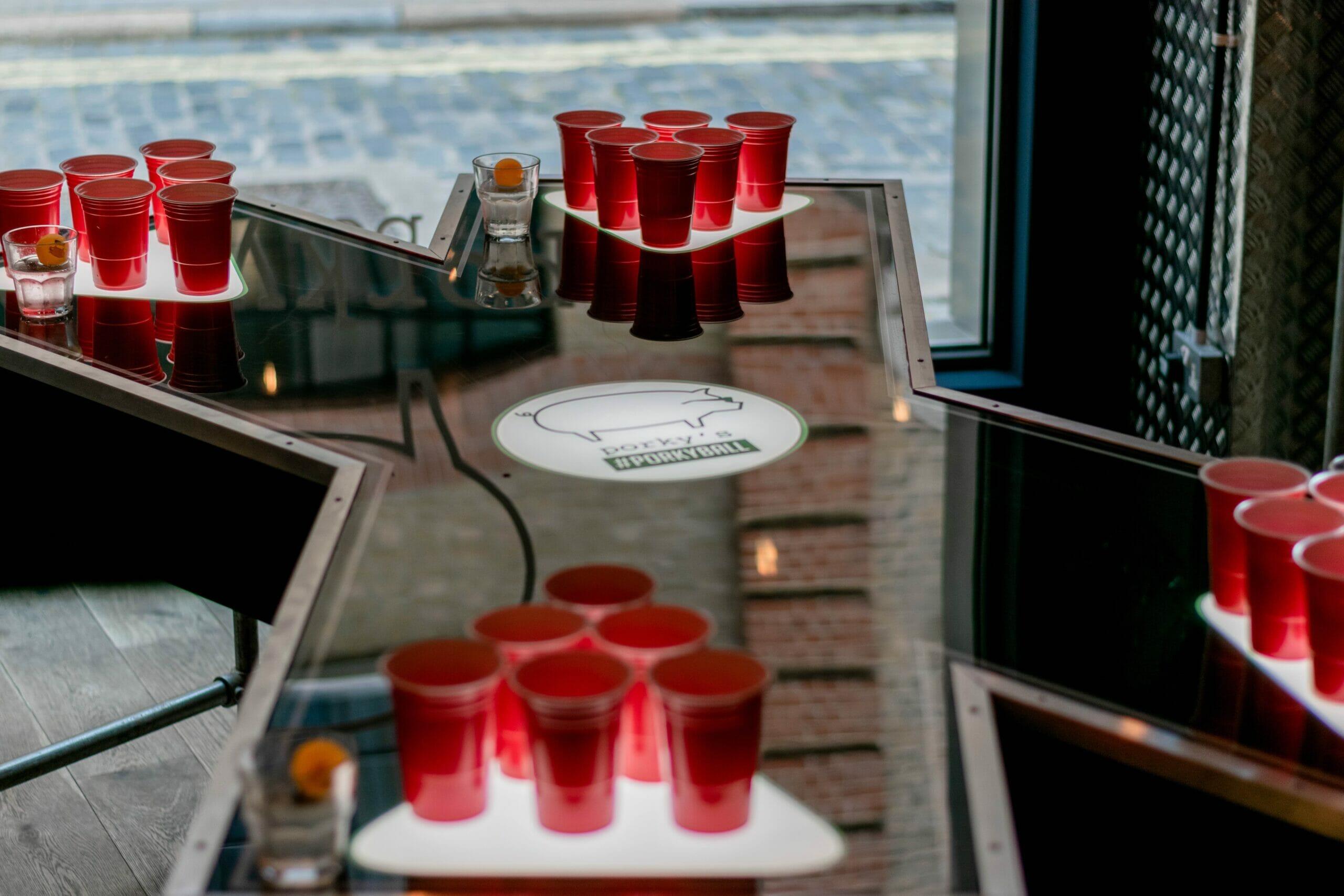 beer pong london activity bars