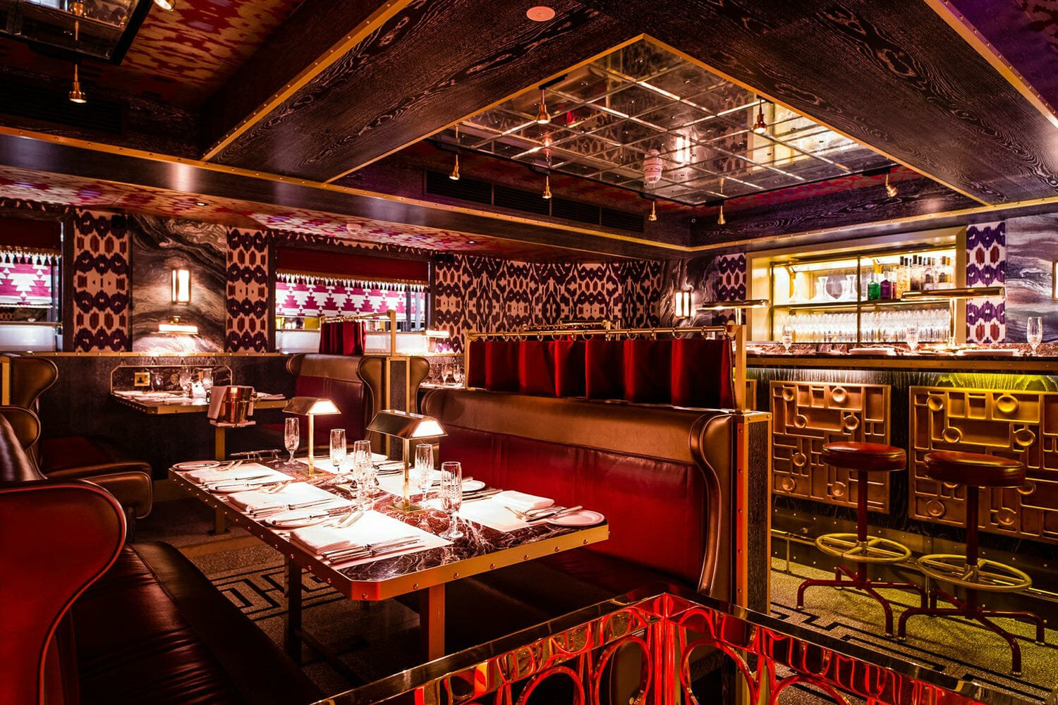 Bob Bob Ricard romantic restaurants London