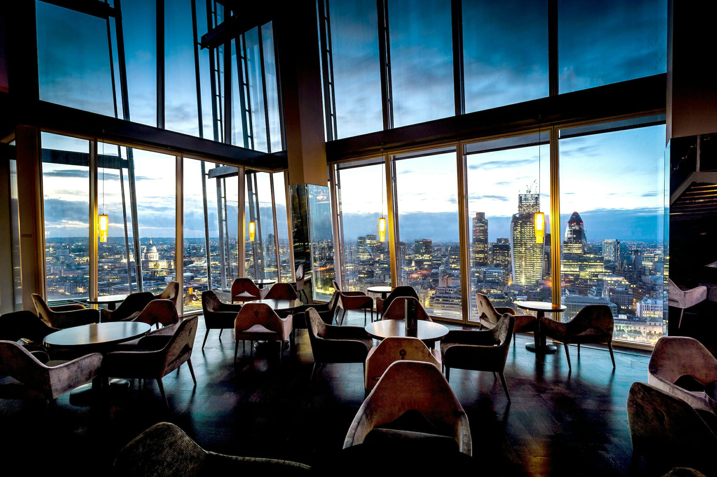 Aqua Shard romantic restaurants