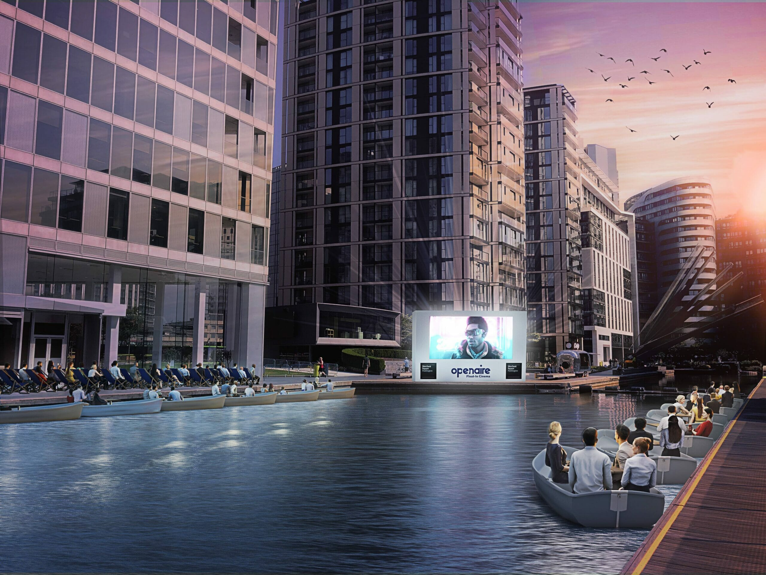 floating boat cinema london