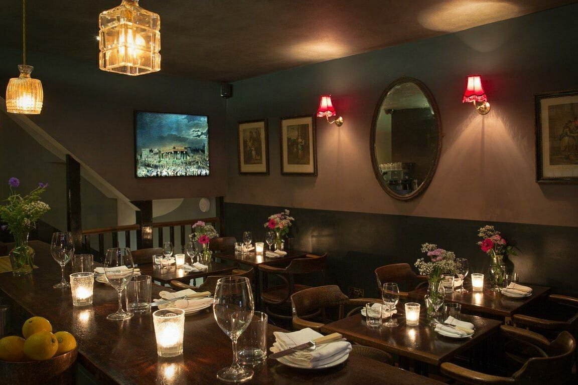 Kitty Fisher's romantic restaurants London