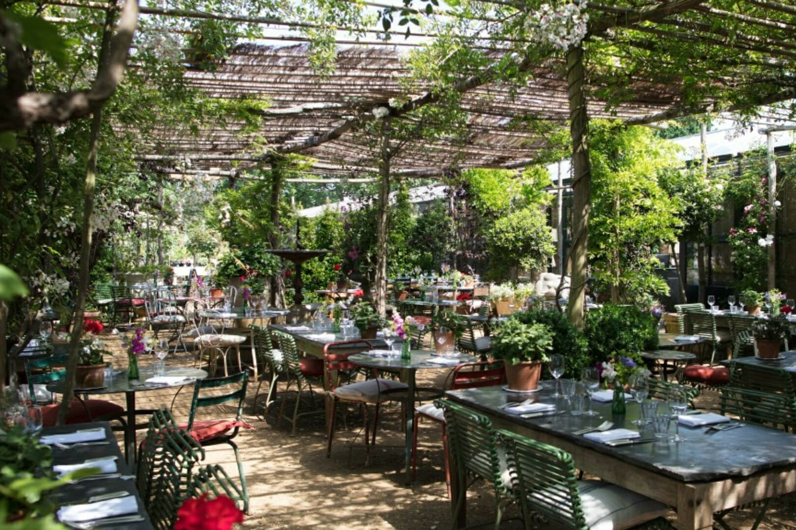 Petersham Nurseries romantic restaurants London