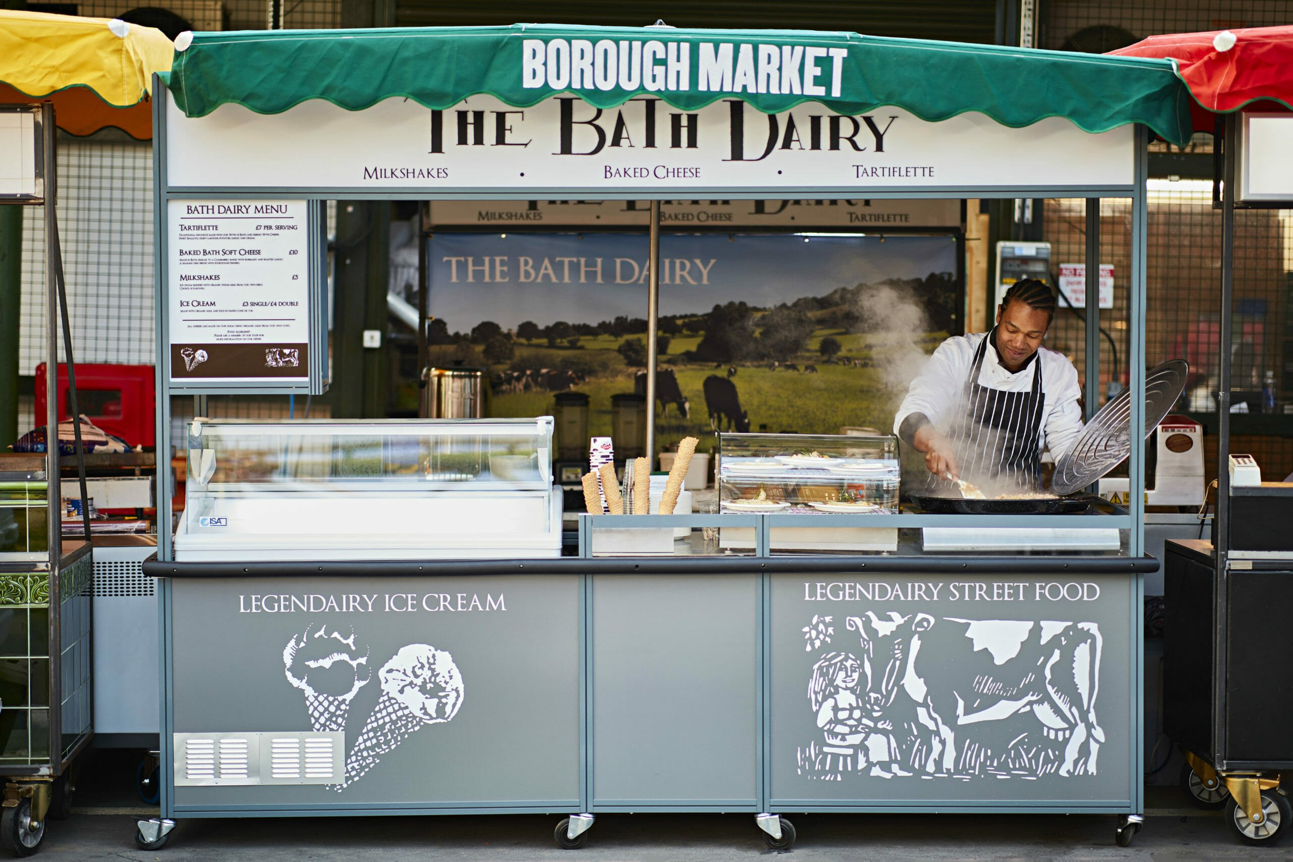 outdoor Food markets london