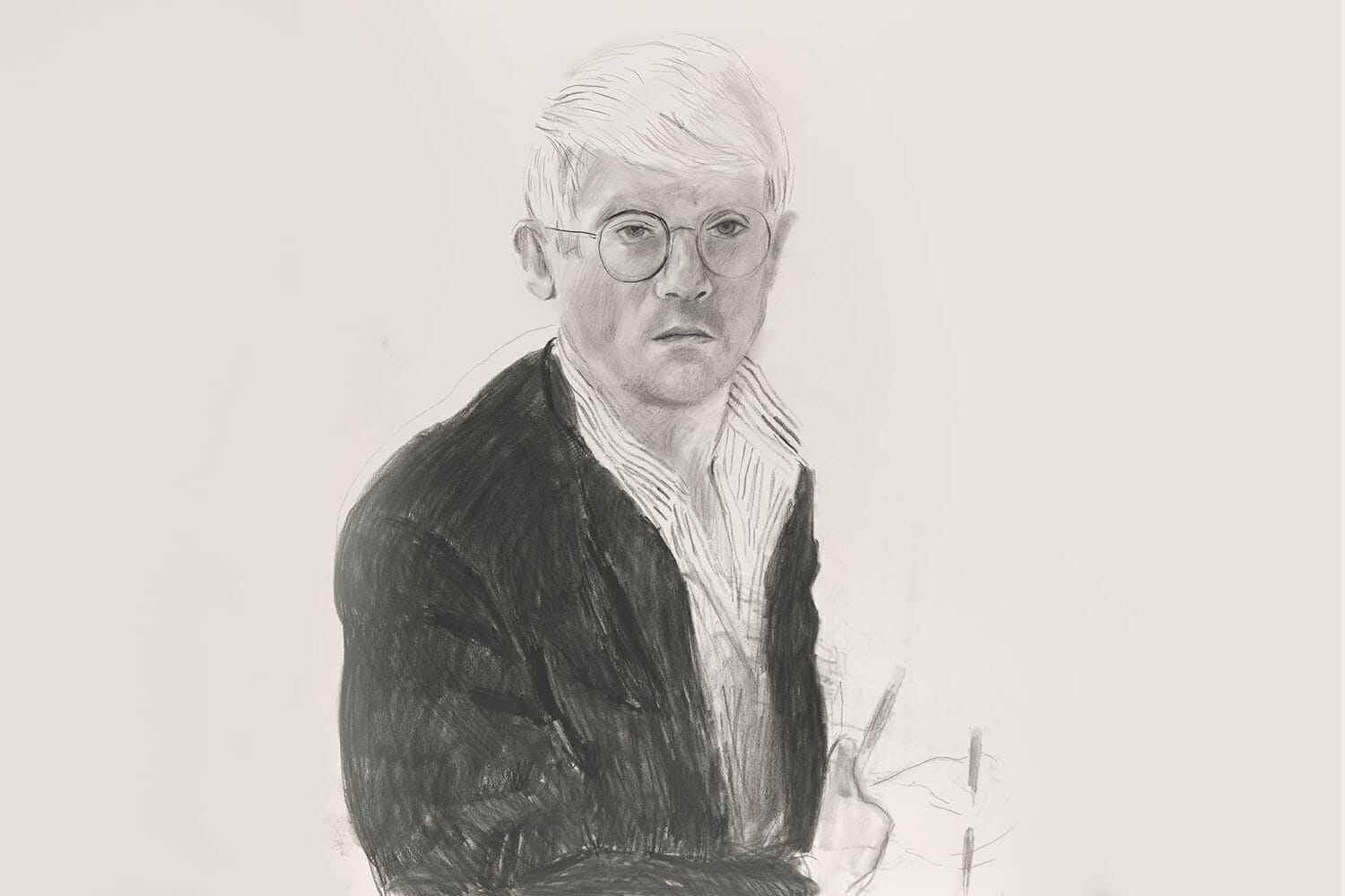 David Hockney exhibition National Portrait Gallery London