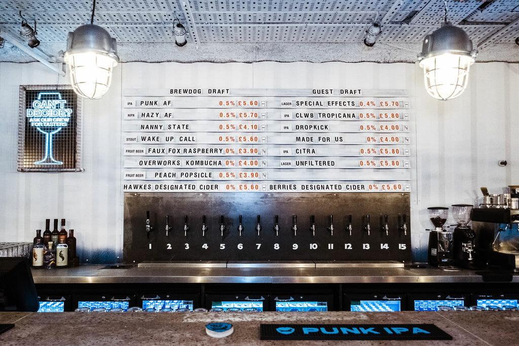 The Brewdog AF Beer Bar