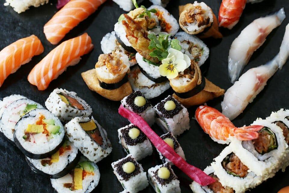aqua kyoto sushi brunch