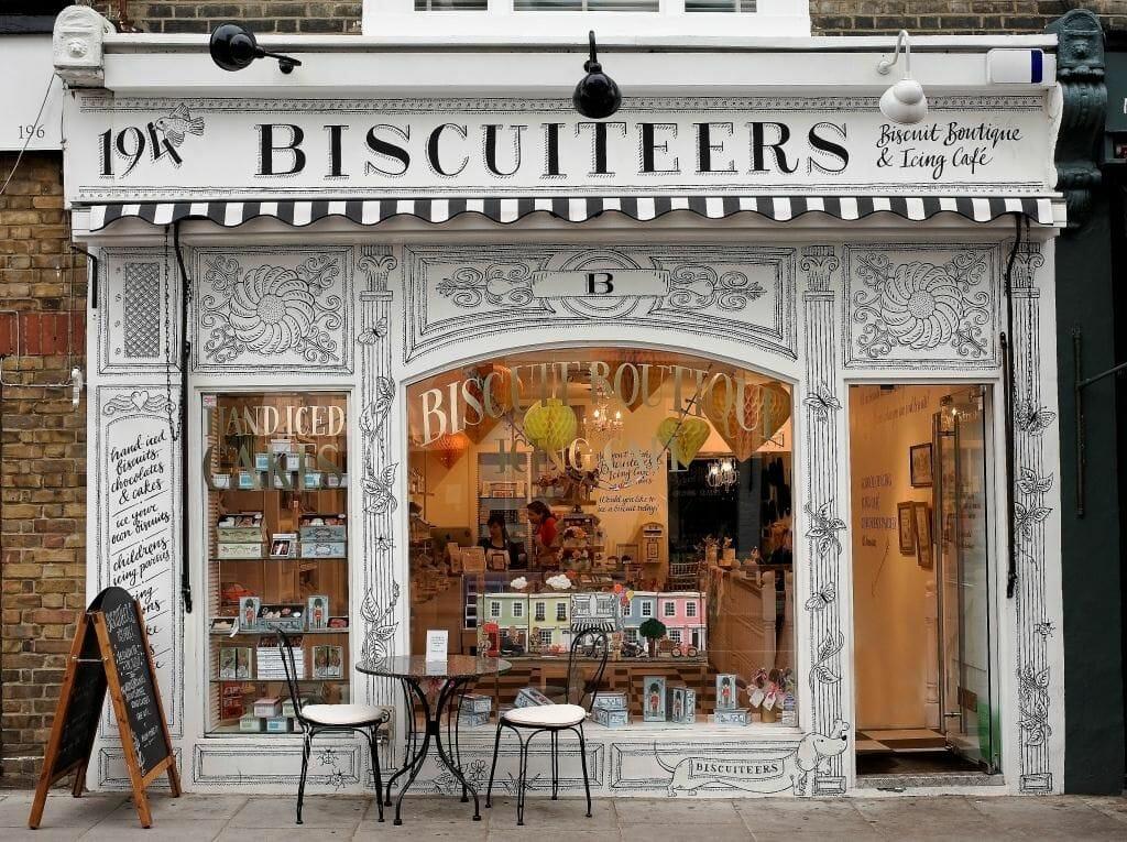 Biscuiteers afternoon tea London