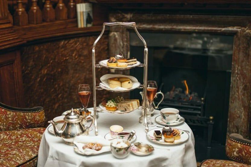 Browns Hotel afternoon tea