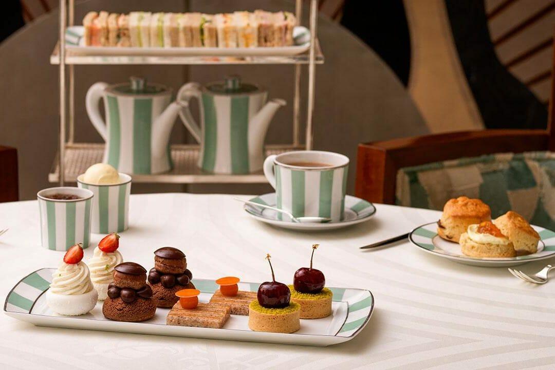 Claridges afternoon tea London