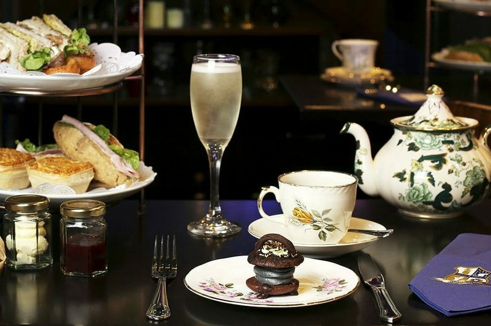 Cutter Squidge potion room afternoon tea
