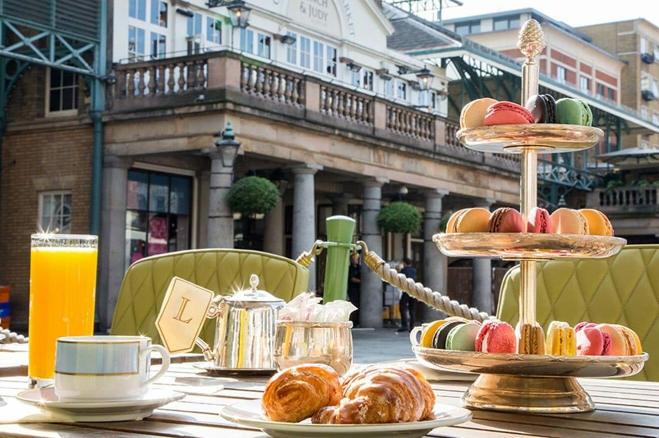 Laduree afternoon tea London
