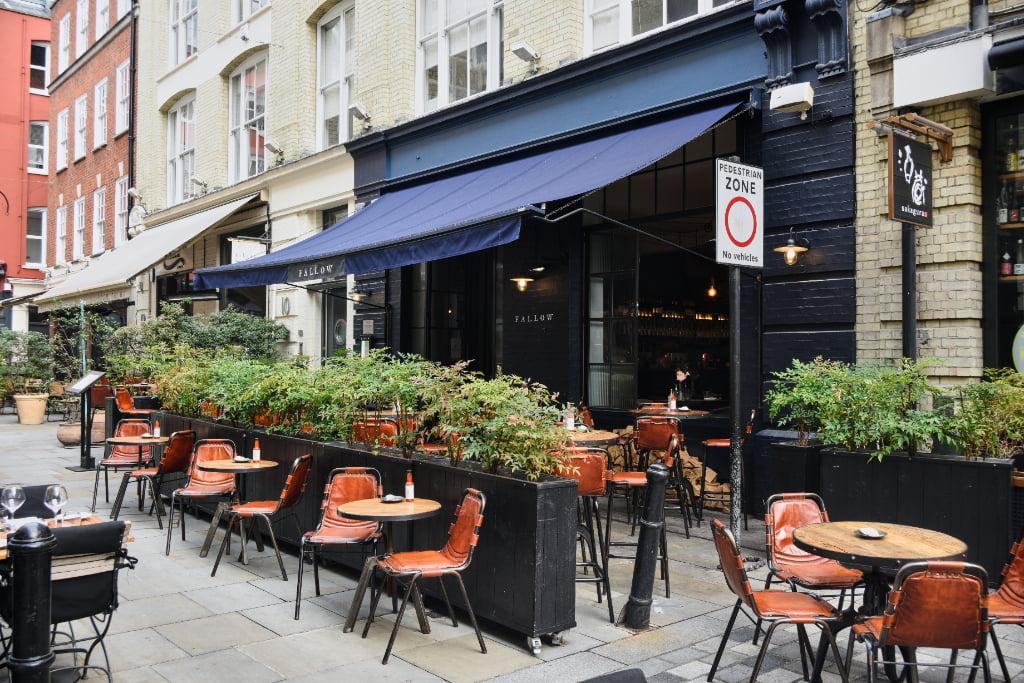 fallow outdoor dining