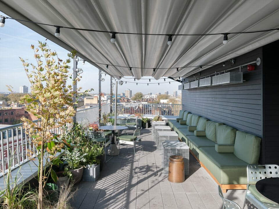 Ace Hotel Rooftop Shoreditch