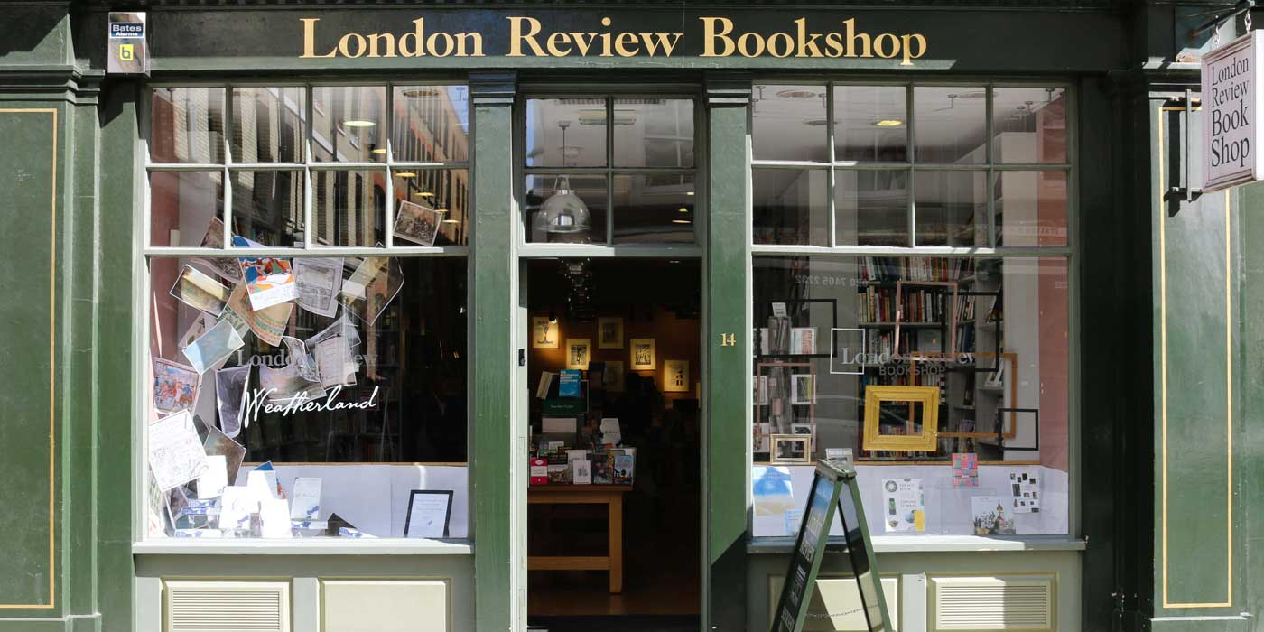London Review Bookshop delivery