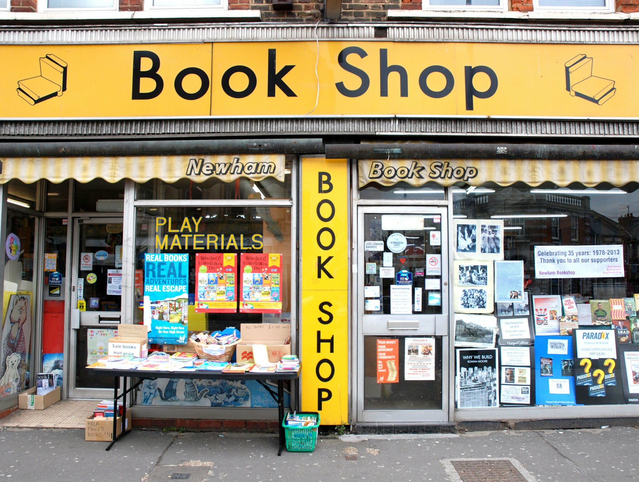 Newham Book Shop delivery
