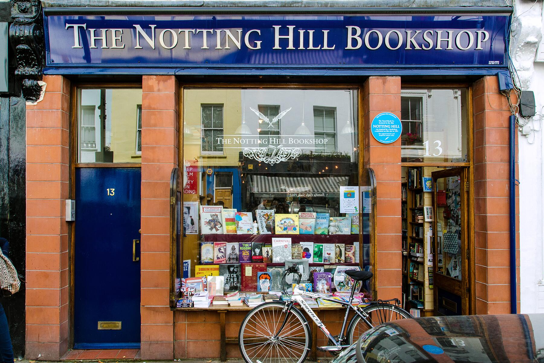 Notting Hill bookshop delivery
