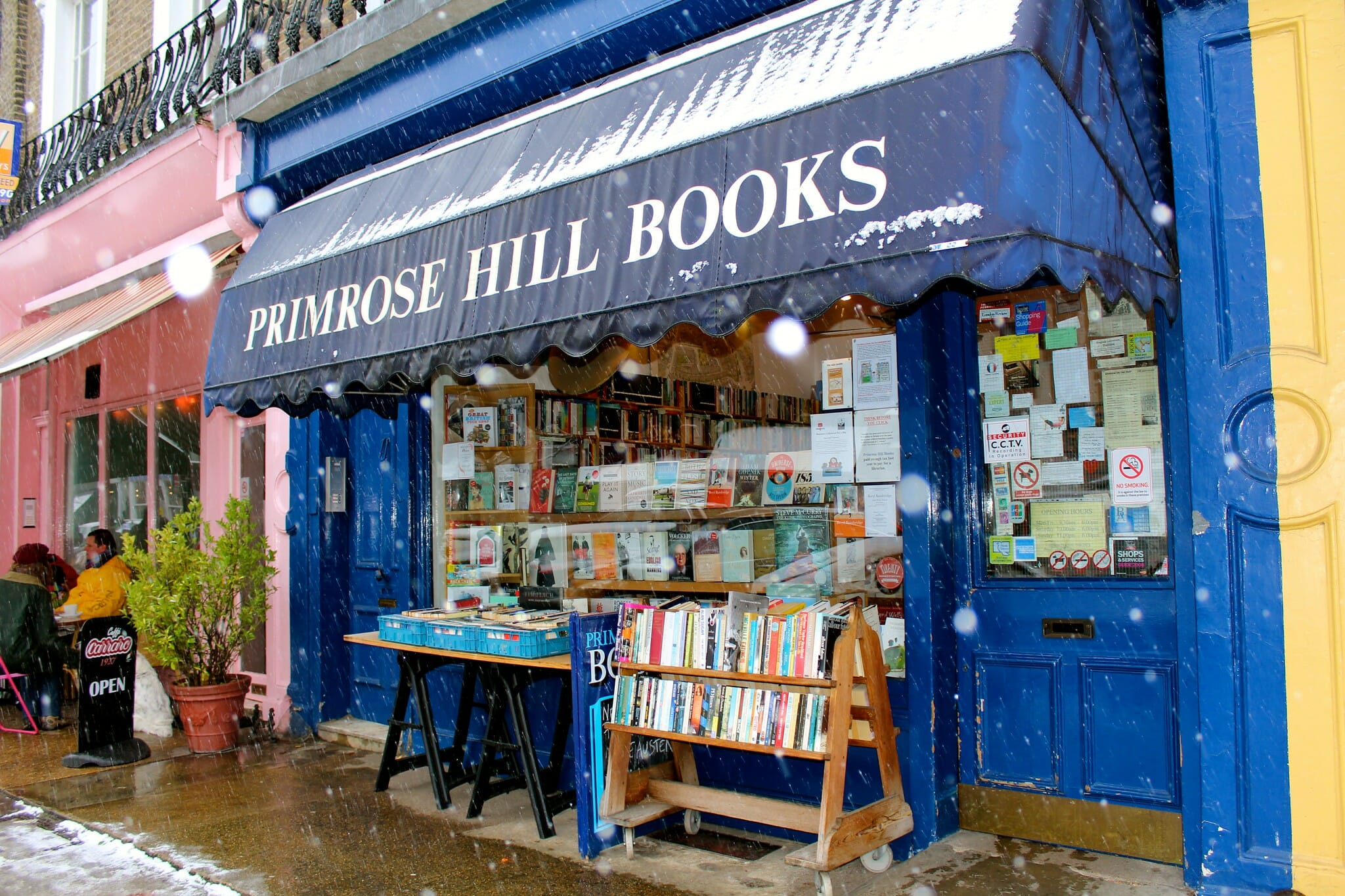 Primrose Hill Books delivery
