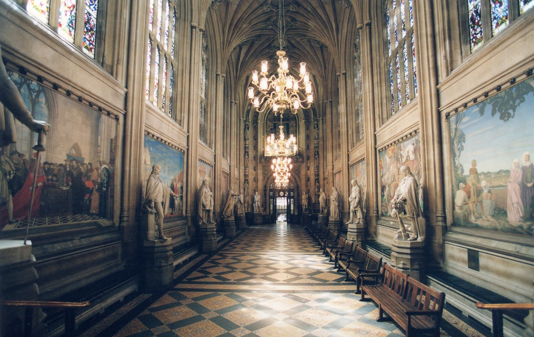 virtual tour houses of parliament