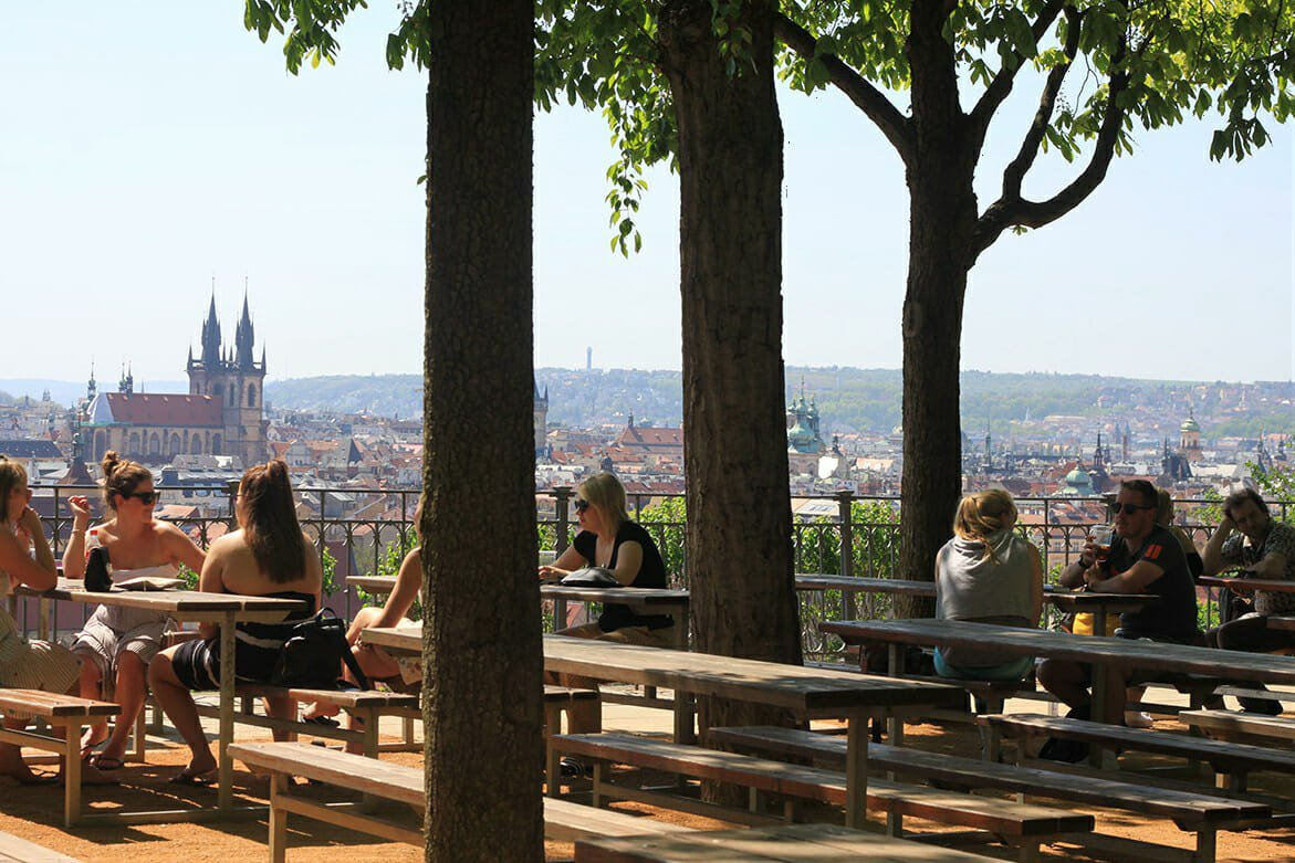 Letna Beer Garden Prague
