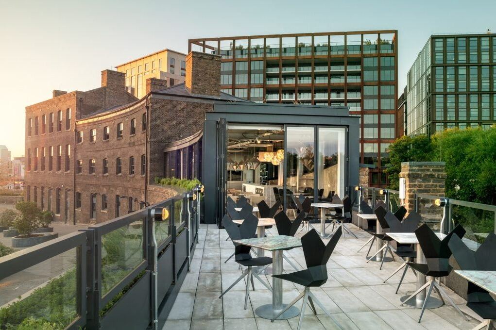 coal office outdoor seating
