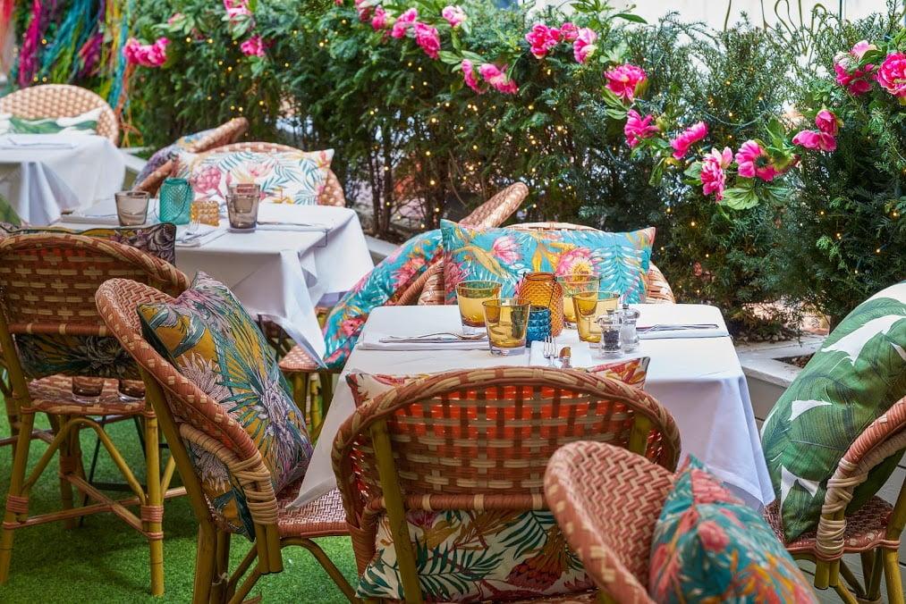 hush outdoor dining london